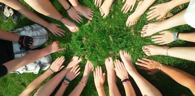Titelbild für den Bereich Umweltbildung & BNE bei der BUNDjugend NRW