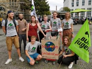Die Bielefelder BUNDjugend am Earth Overshoot Day